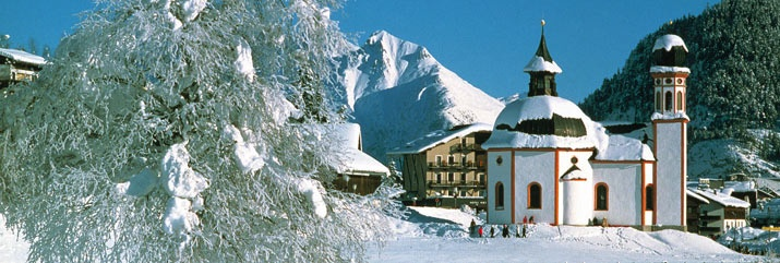 A wonderful pic of Seefeld in the heart of winter