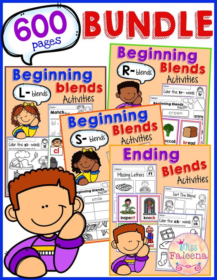 The Beginning and Ending Blends Activities Growing Bundle contains 600 pages of blends worksheets. This product will help children to trace, write, build and make sentences from beginning blends words. It can be used for class time worksheets or morning work. Kindergarten | Kindergarten Worksheets | First Grade | First Grade Worksheets | Phonics| Beginning Blends Growing Bundle | Beginning Blends Worksheets | Printables