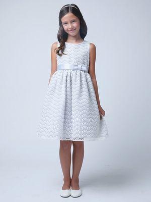 I like this dress for the flower girls
