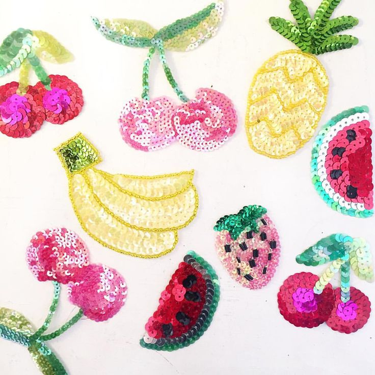 Sequin patches