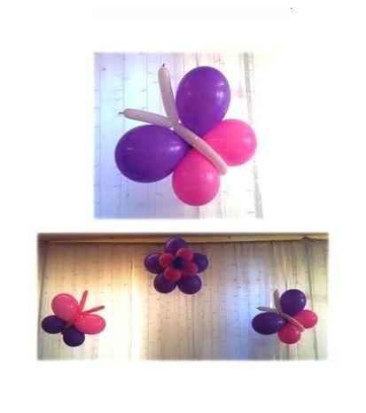 7 lei/bucata  Fluturasi realizati din baloane umflate cu aer.  Trebuie agatati, nu pot fi realizati cu Heliu.  Se pot prinde pe stalpi, aplice, geamuri, draperii, perdele, etc.