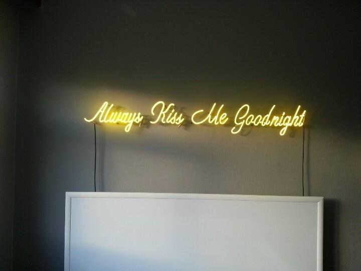 Neon Lights   Always Kiss Me Goodnight