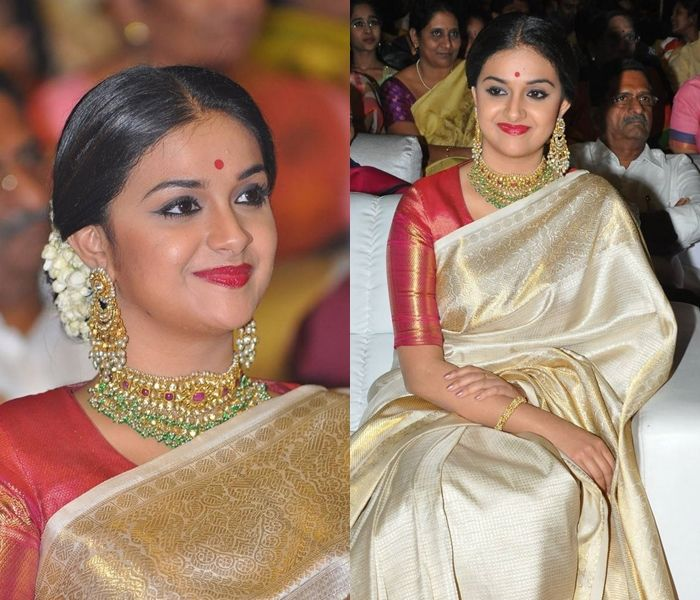 Celebrities Are Making This Hairstyle Go So Chic With Sarees