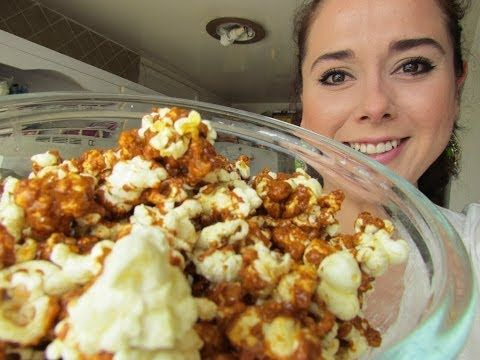 Palomitas de caramelo caseras POPCORNS! - YouTube