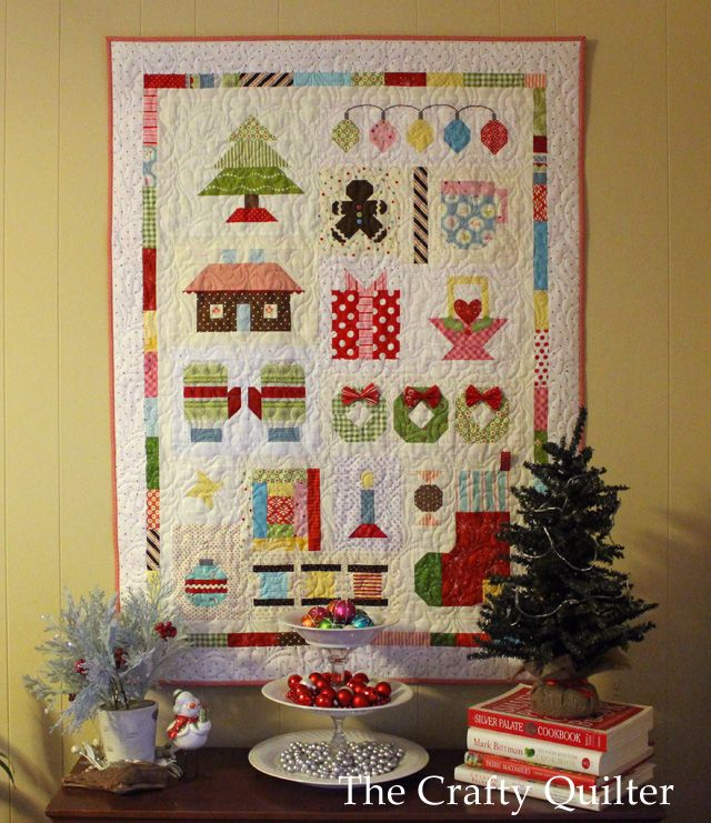157 best Christmas S&ler Quilt Blocks images on Pinterest ... : christmas quilting projects - Adamdwight.com