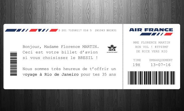 imprimer carte embarquement air france Modèle de Carte d'Embarquement – Boarding Pass template Photoshop