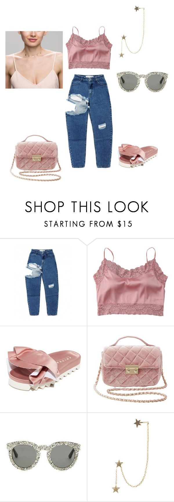 """""""Untitled #176"""" by jesysminn on Polyvore featuring Satìne, Joshua's, Charlotte Russe, Yves Saint Laurent and Zimmermann"""