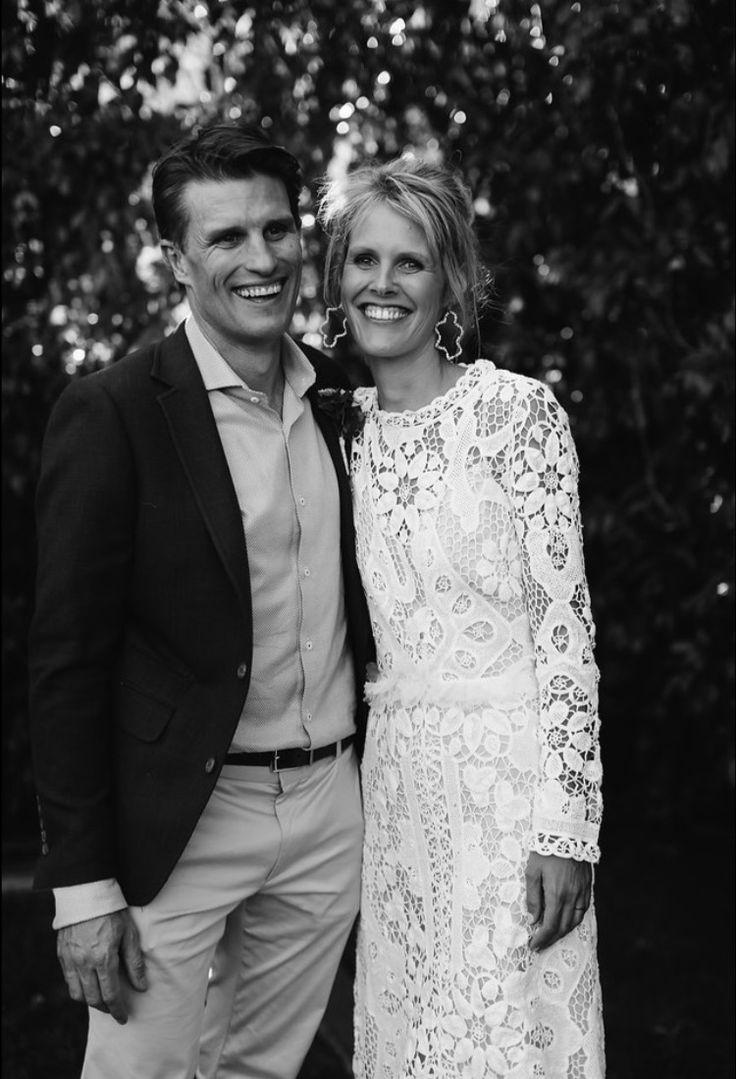 Emily is wearing 'spirit in white' dress #nevenka #bride #wedding #weddingdress #madeinmelbourne