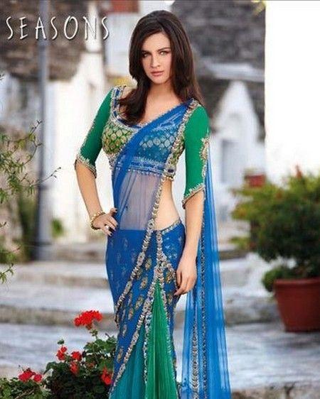 latest bollywood sarees 2014 - Google Search