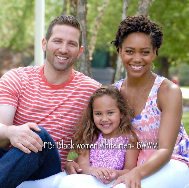 Gorgeous interracial family #love #wmbw #bwwm