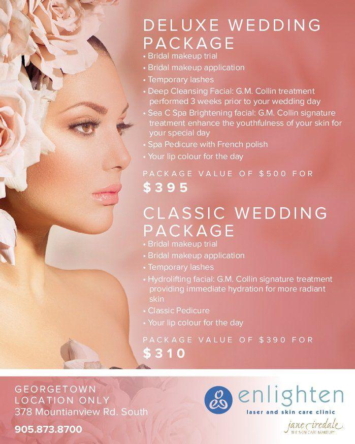 Image result for laser skin care wedding package