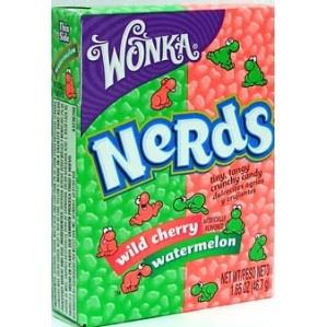 Wonka Nerds, Wild Cherry & Watermelon