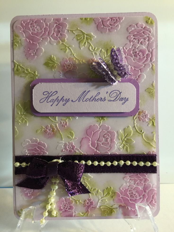 Handmade, Elegant, Mother's Day Greeting Card by CWenselCreations on Etsy