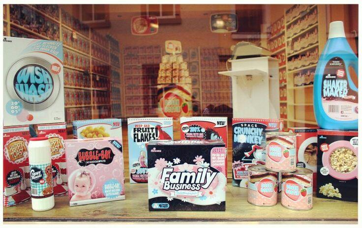 Mister Quick Markt - Sweet Things! #art #popart #supermarket #vintage #60s #handmade