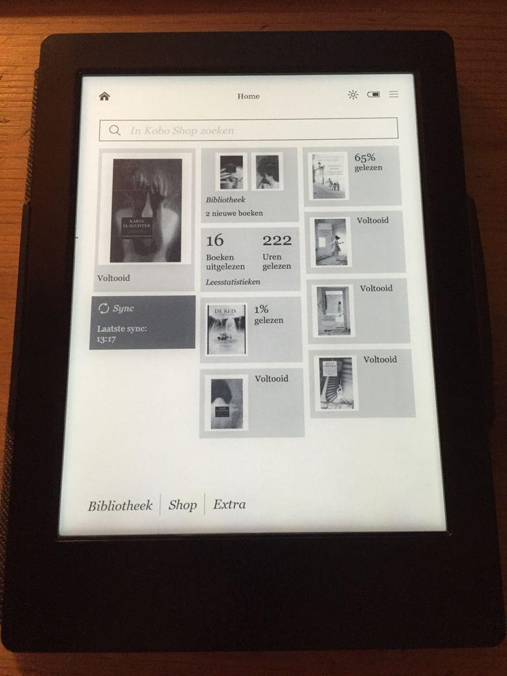 Een aankoop waar ik al een half jaar enorm blij mee ben, is mijn e-reader (Kobo Aura H2O). Nooit verwacht dat het zo fijn zou zijn, op verschillende gebieden. Mijn verjaardagsgeld waard geweest! Ik ben nu de 'Grant County' serie van Karin Slaughter aan het lezen, waar ik al enige tijd benieuwd naar was. #ereader #kobo #aura #H2O #koboauraH2O #gadget #readingaddict