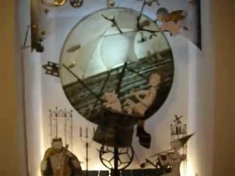 Kinetic Sculpture романтическое путешествие - YouTube