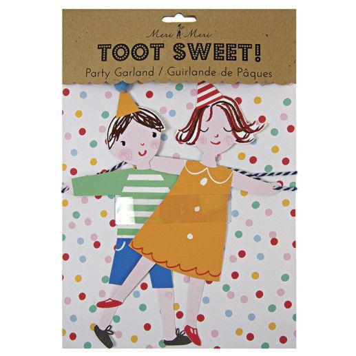 Toot Sweet Party Girlande Kindergeburtstag