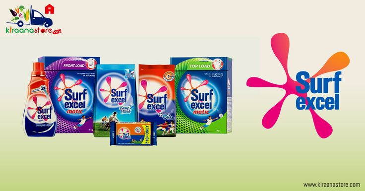 Buy #Surf #Excel Products Online in Delhi-NCR at the best price from Kiraanastore.com. Get deals and discounts on Surf Excel #Detergent #Bars, #Liquids and more Groceries items. Free Shipping & COD Available.