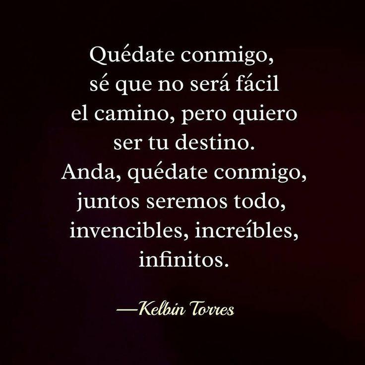 〽️ Quédate conmigo... Kelbin Torres