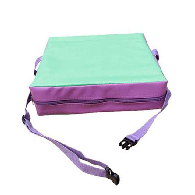Children Booster Pad Seat Cushion Adjustable Removable