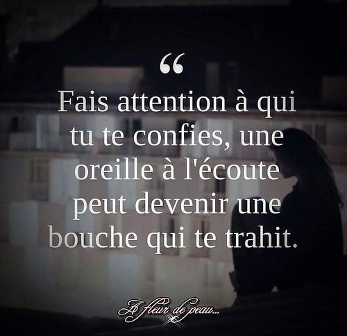 citation trahison