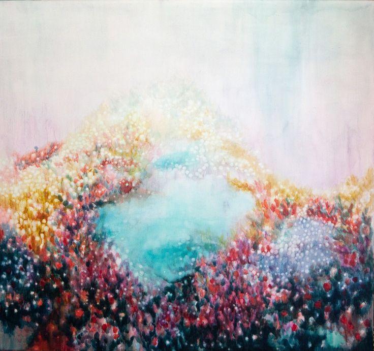 Alexia Vogel, Pool, 2016, Barnard Gallery