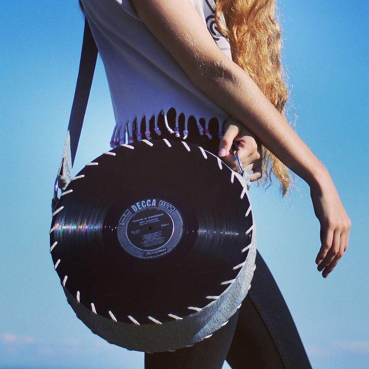 Handmade Songbag vinyl record bag www.thesongbag.com