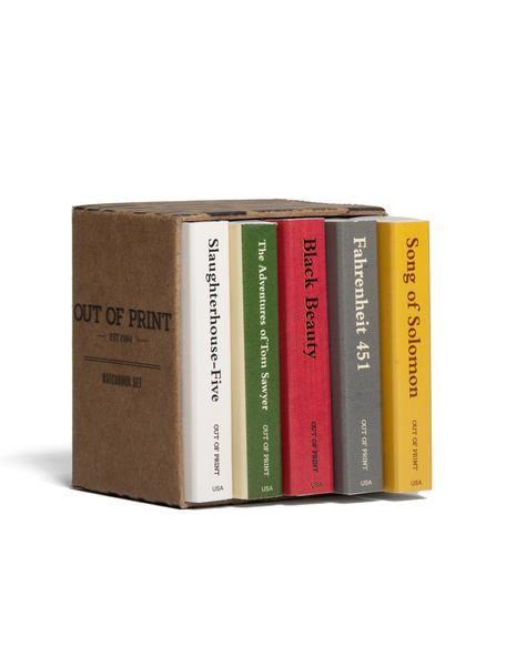Banned Books Match Book Set – Book Riot Store