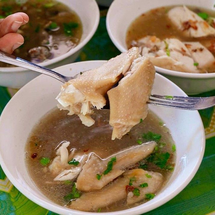 Sop Ayam Pak Min Banyuwangi Makanan Masakan Resep