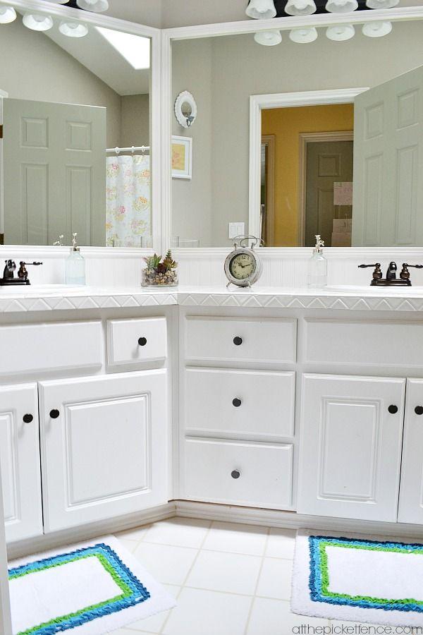 Best 25 budget bathroom makeovers ideas on pinterest - Budget friendly bathroom remodel ...