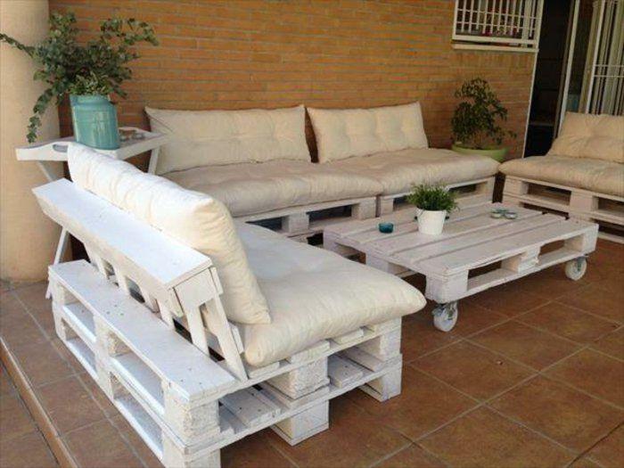 25 best Ofisler images on Pinterest Pallet furniture, Pallet ideas - lounge gartenmobel gunstig