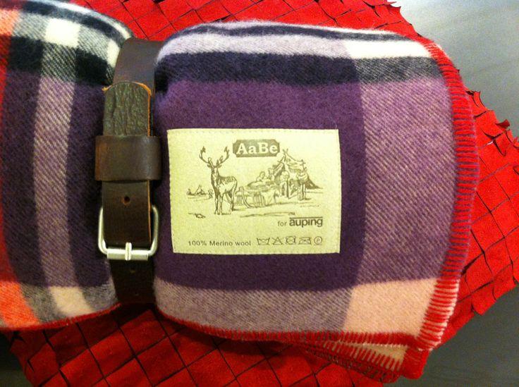 Dekenfabriek AaBe maakte voor Auping deken Marini.
