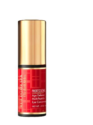 Had an amazing facial at Red Door Spa- White Plains and the esthetician recommended Professional Age Defense Muliti-Peptide Eye Concentrate. We will see how it goes!  Red Door Spa Professional Age Defense Collection | Elizabeth Arden Red Door Spas