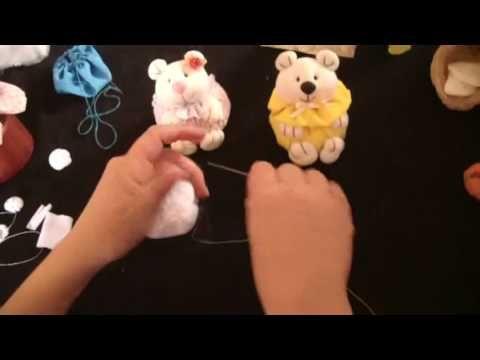 Muñecos soft...ositos con volado 1/5...proyecto 79 - YouTube