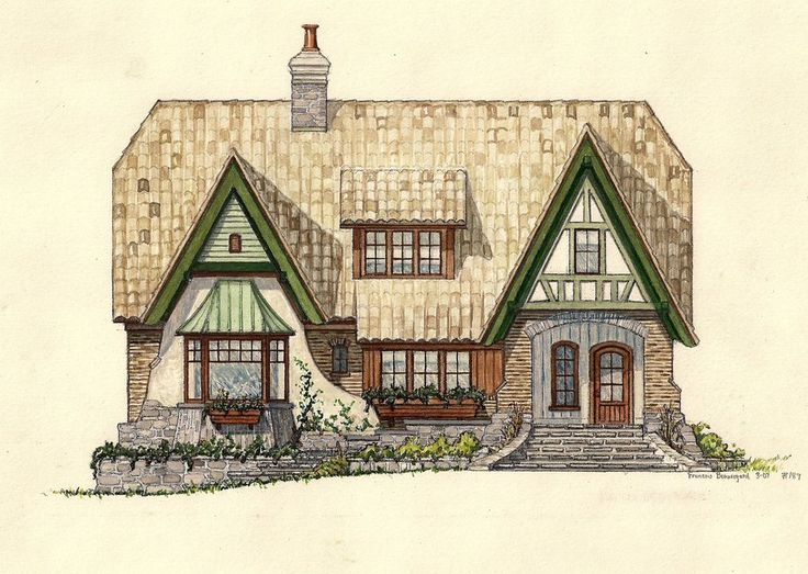 17 Best Images About Craftsman Tudor Architecture On