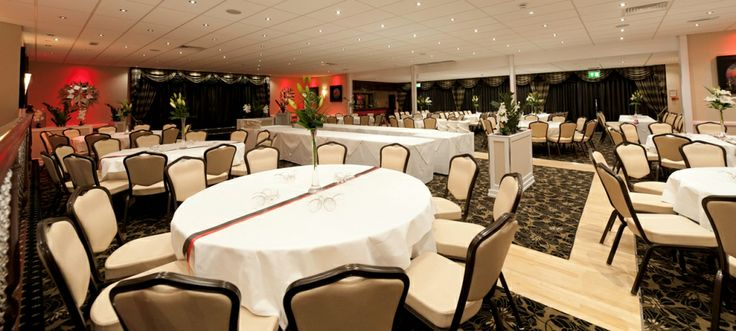 Intercharging lights in the Arlington Suite help tailor the room to your function/wedding/banquet!!! www.barnstaplehotel.co.uk