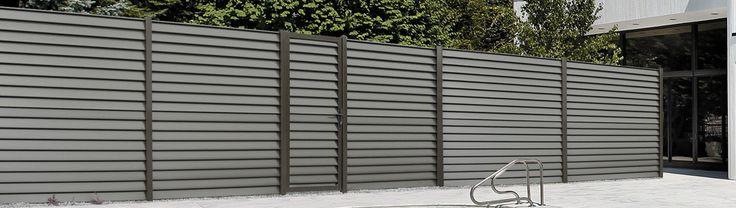 Les 25 meilleures id es de la cat gorie brise vue aluminium sur pinterest c - Cloture en aluminium castorama ...