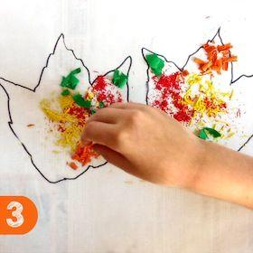 Basteln and blog on pinterest for Angebote kindergarten herbst