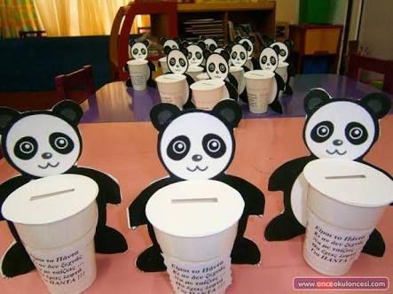 Pandadan kumbara yapımı