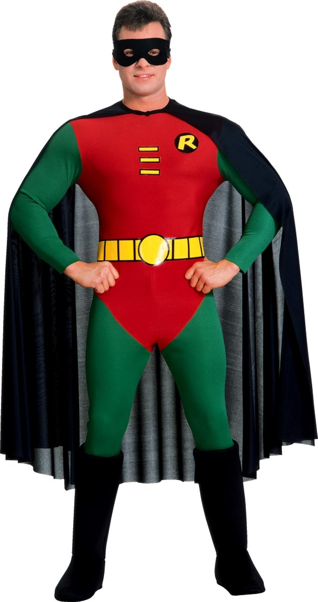 Batman DC Comics Robin - includes eyemask cape and Red u0026 Green jumpsuit with attached boot tops and belt. This is an officially licensed Batman ™ costume.  sc 1 st  Pinterest & 7 best Horse Ideas-Costume Class images on Pinterest | Batman ...
