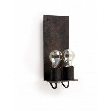Piet Boon Trijnie wandlamp dubbel van