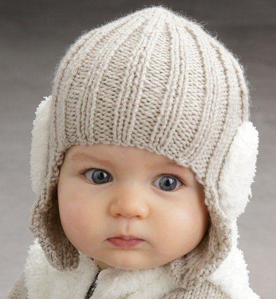 шапка схема вязания для