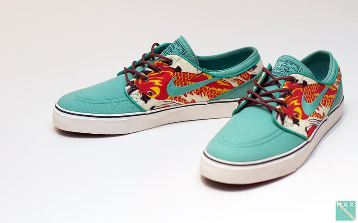 Nike koi fish sneakers stay fresh pinterest for Fish shoes nike