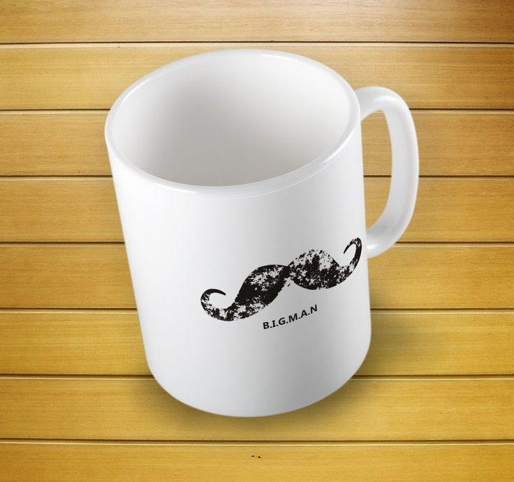 Big Man Mug #bigmanmug #bigmancup #bigman #fathergift #christmas #mugs #mug #whitemug #drinkware #drink&barware #ceramicmug #coffeemug #teamug #kitchen&dining #giftmugs #cup #home&living #funnymugs #funnycoffecup #funnygifts