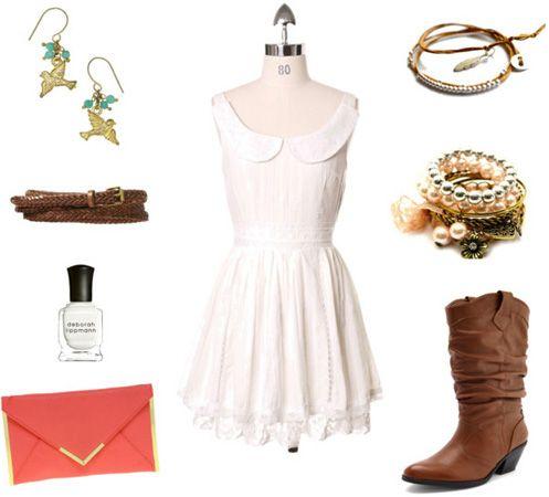 The Bachelorette Emily's Cowgirl Fashion