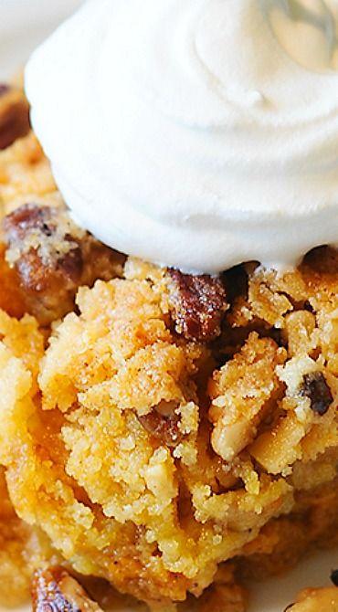 Pumpkin Crunch Cake Recipe - Best Pumpkin Crunch Cake!