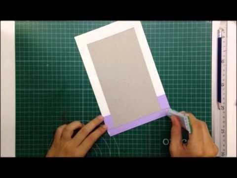 Cómo hacer un libro de firmas - TUTORIAL Scrapbook