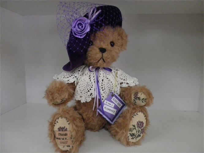 Dlorah Bears - hand made and individually named and numbered
