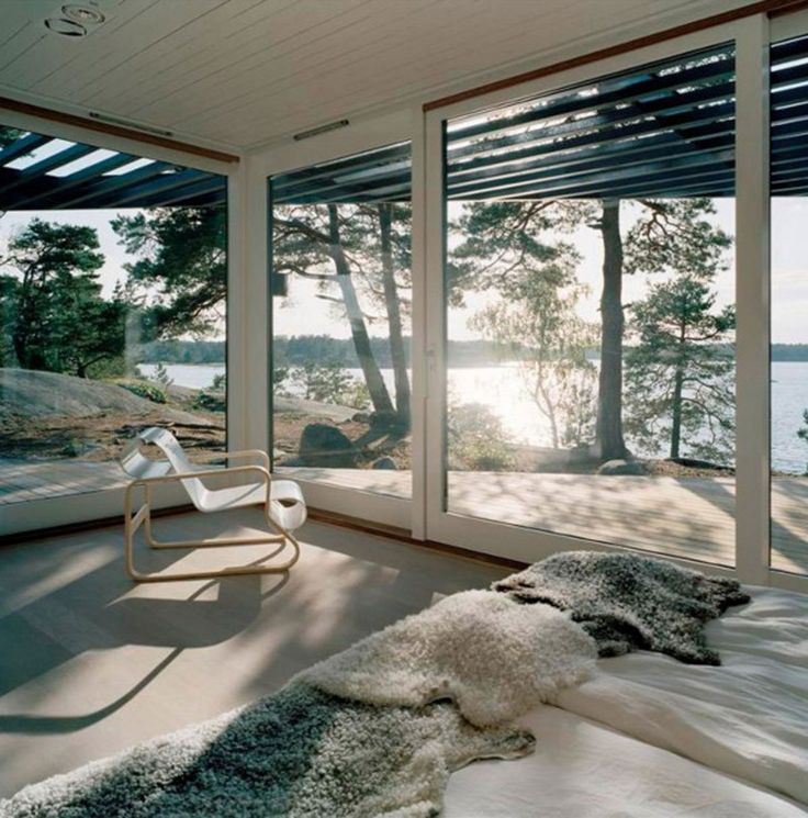 Summer Cottage House with Modern Style from Tham & Videgard Hansson Arkitekter – Bedroom