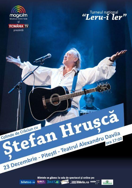 Miercuri, 23 Decembrie 2015, ora 17:00, Teatrul Al. Davilla, Pitesti